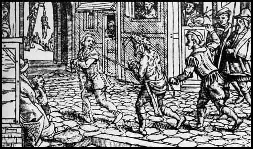 thieves woodcut