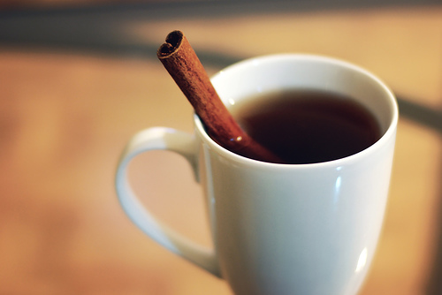 cinnamon in tea