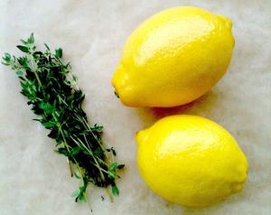 thyme lemon