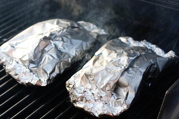 foil grilling