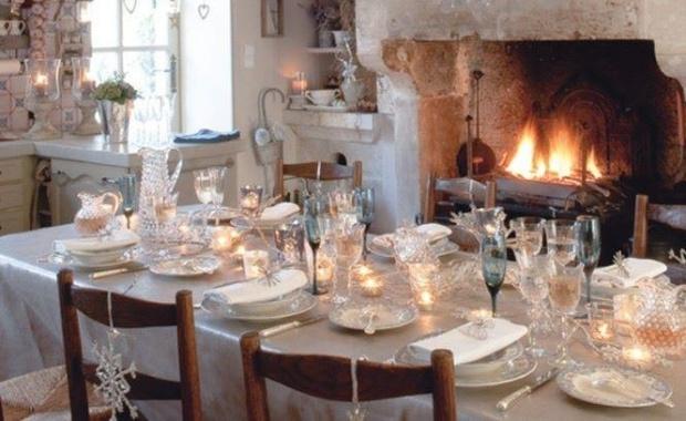 january table setting