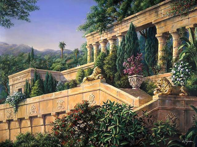 The-Hanging-Gardens-of-Babylon