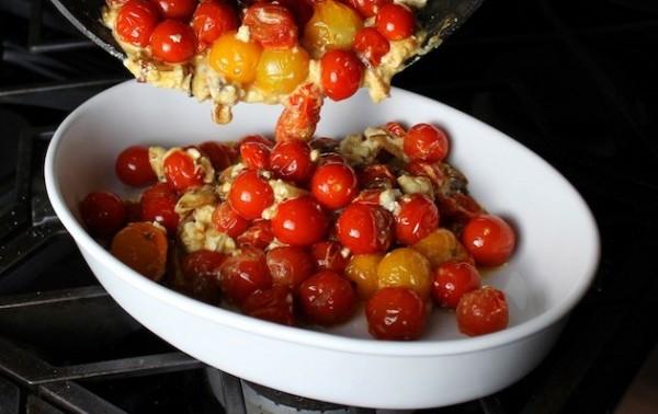 tomato feta dish